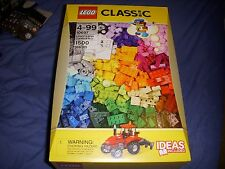 LEGO 10697 Classic Large Creative Box set  1500 Pieces Total  New Sealed BLOCKS