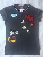 BNWT Girls Disney Mickey Mouse Long Back Top Age 7 Years Old