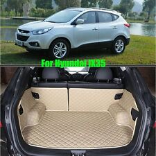 Trunk Boot Liner For HYUNDAI IX35 2009-2014 Years Universal Car Truck Mat Carpet
