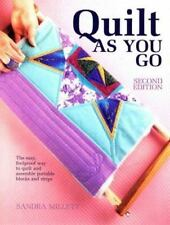 Quilt-As-You-Go Millett, Sandra Second Edition Chilton Books 1993 Softcover