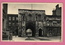 Unposted . West Gate, Winchester, Hampshire.