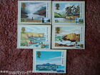 PHQ Stamp cards FDI Front No 52 National Trusts 1981. 5 card set Mint Condition