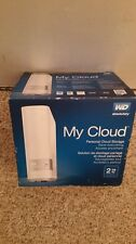 New Western Digital My Cloud 2TB Personal Cloud Storage NAS Ethernet Hard Drive