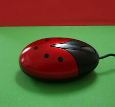 Ladybug Mouse and Mouse Pad Set!  Kids Computer Mouse & Mousepad, Set of 2