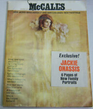 McCall's Magazine Jackie Onassis March 1971 NO ML 040213R