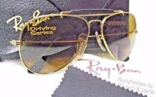 VINTAGE NOS RAY-BAN B&L AVIATOR *CHROMAX W1663 B-20CM Driving SRS NEW SUNGLASSES
