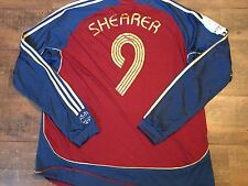 2006 2007 Newcastle Shearer Inter Toto Cup Away L/s Football Shirt Adults XXL