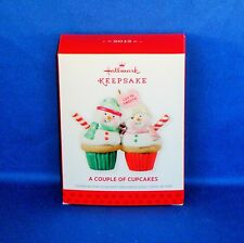 Hallmark - 2013 A Couple of Cupcakes - Keepsake Christmas Ornament - NEW