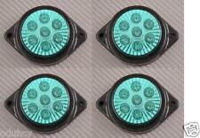 4x 7 LEDs 12V Marquage Latéral VERT Phares Voiture SUV Camping Car 4x4 Pickup