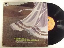 fedoseev conducts russian orchestral works vol. 1 lp d-vcl 9050    vg+/m-