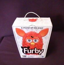Hasbro Furby 2012 Phoenix Tangerine Tango RED ORANGE Collectible 30 Day Warranty