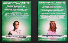 Thunderbirds The Movie: Costume REDEMPTION CARDS 1 & 2