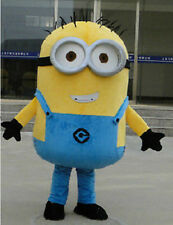 Best Deal Adult Size mascot minions despicable me costume Halloween party Dress