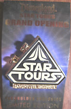 Disney Star Tours 2011 Grand Opening Passholder Pin Hinged LE2000