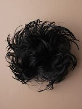 Head Hair Piece Scrunchie Bun Extension Synthetic Fake Ladies Girls Scrunchy