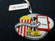 Polar X  #1 Movie Buff Popcorn Christmas Ornament NEW (o1219)