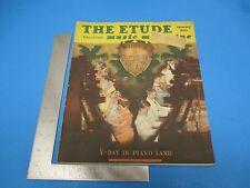 The Etude Music Magazine January 1945 Vol LXIII No.1 V-Day In Piano Land  L128
