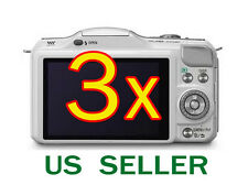 3x Clear LCD Screen Protector Guard Film For Panasonic Lumix DMC-GF5
