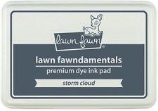 """Lawn Fawn  """"Fawndamentals""""  Premium Dye Ink Pad STORM CLOUD (Dark-Grey)  ~LF1276"""