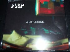 Pulp A Little Soul Promo CD  Single - Like New
