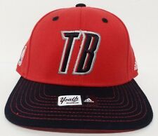 Portland Trail Blazers NBA Youth Red adidas Fitted Hat Cap NWT Flat Bill 4-7yrs
