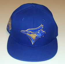 New Era Toronto Blue Jays 59fifty 7 7/8 Cap Hat MLB 59th Anniversary Gold Emblem