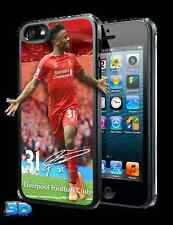 Raheem Sterling 3D iPhone 5 or 5S Hard Case Official Liverpool Item New