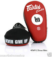 Fairtex NEW Focus Mitts FMV12 BEST MMA EQUIPMENT