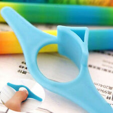 New 3 Pcs Multifunction Plastic Thumb Book Holder Book Marker