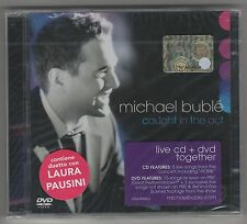 MICHAEL BUBLE' Bublè CAUGHT IN THE ACT LAURA PAUSINI CD + DVD SIGILLATO!!!