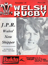 ALL BLACKS' TOUR -JPR NOW SKIPPER-RESOLVEN CELEBRATE-WELSH RUGBY (November 1978)