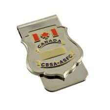 CBSA Canada Border Services Agency Customs Officer Chrome Money Clip NEW