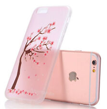 Slim Rubber Soft Silicone Cute Fashion Girls Clear Case Cover For iPhone 6 6S