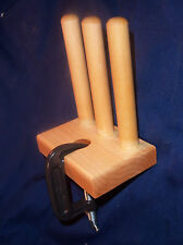 Triple  Warping Peg - Used with Kumihimo, Rigid Heddle, Inkle etc. Warping Board
