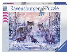 Ravensburger 2014 Loups Arctique 1000 Piece Puzzle-Cadeau Nouveau