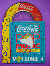 Coca-Cola Pop Music Vol 4 Mini CD: Paul Young, Prefab Sprout, Henry Lee Summer +