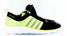 Adidas Womens Selena Gomez Neo X Lite Shoe Black Fluorescent Yellow Size 10
