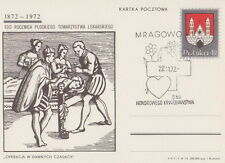 Poland postmark MRAGOWO - medicine Red Cross blood donation