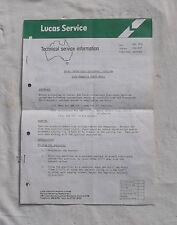 Lucas Contactless Electronic Ignition Technical Information Ford Holden Valiant
