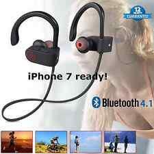 SENSO Wireless Bluetooth Stereo Headphone Earphone Sport for iPhone LG Samsung