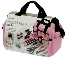 Ladies Pink Tool Bag 76PC Set Kit  Women Womens Girls Gift Tools Orginizer