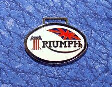 Triumph British Motorcycle Car Logo Watch Fob