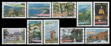 France 3234a-j Aspects of life in French regions (10 USED Stamps from sheet)