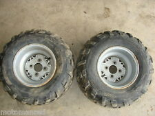 05 POLARIS SCRAMBLER 500 HO 4X4  04 06 22 11 10 ATV REAR TIRES RIMS TRAILBLAZER