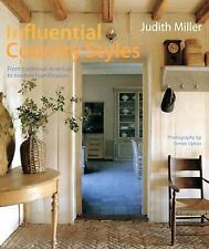Influential Country Styles: From Traditional American to Rustic French-ExLibrary