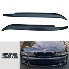 BMW 5-SERIES E39 4D HEADLIGHT LAMP COVER TRIM EYEBROWS EYELIDS 97-03 ☜