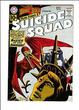 THE BRAVE & THE BOLD #38  [1961 VG-FN]  SUICIDE SQUAD  STATUE OF LIBERTY COVER!