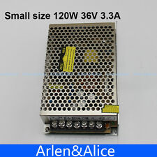 120W 36V Small Volume Single Output Switching power supply for LED Strip light