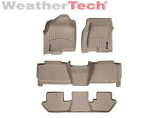 WeatherTech® FloorLiner - GMC Yukon XL / Denali XL w/Bucket - 2000-2006 - Tan