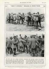 1916 Indian Troops Hotchkiss Searching Prisoners